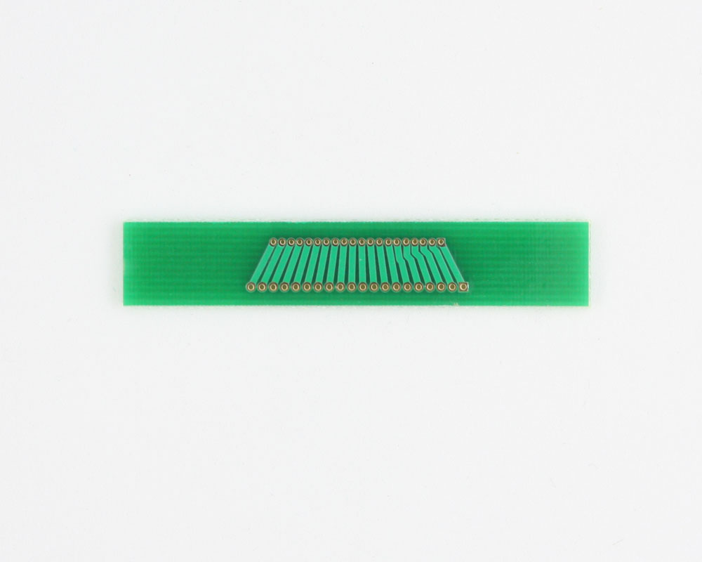 Pitch Changer 1.00 mm to 1.27 mm conversion - 20 pin 1