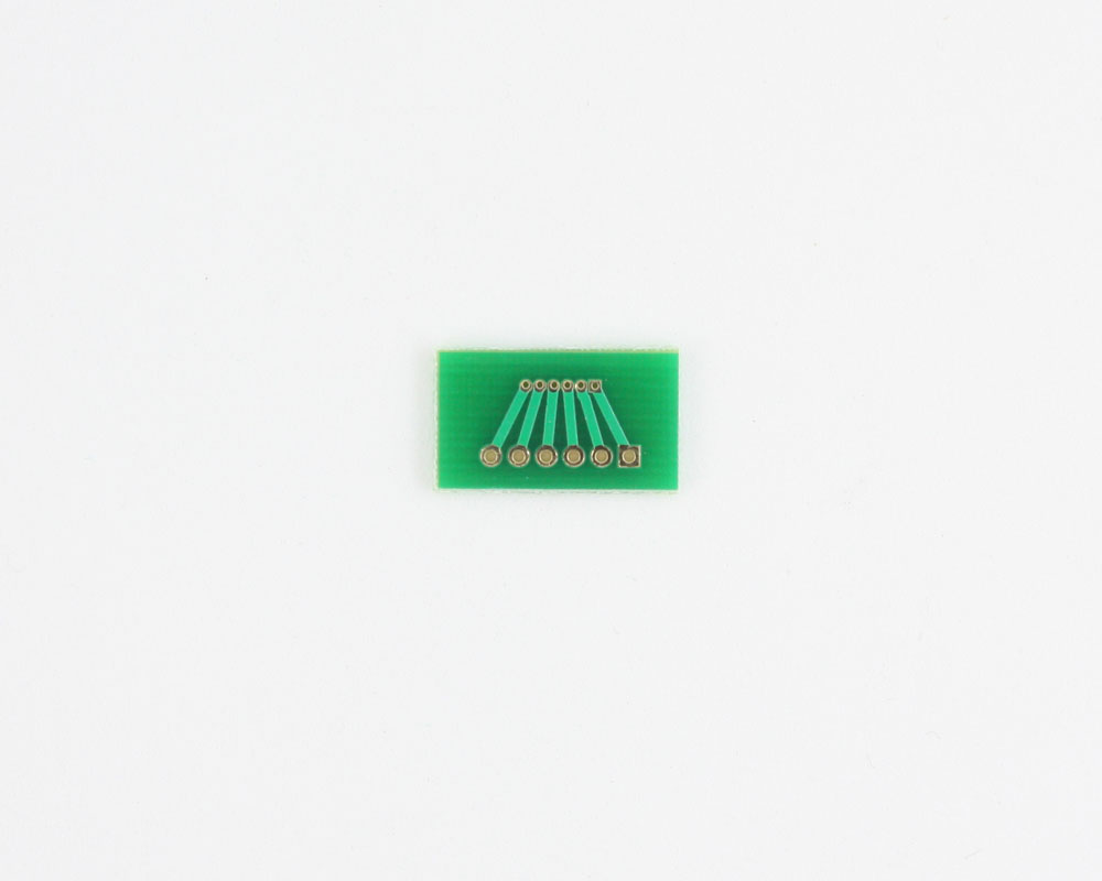 Pitch Changer 1.00 mm to 2.00 mm conversion -  6 pin 1
