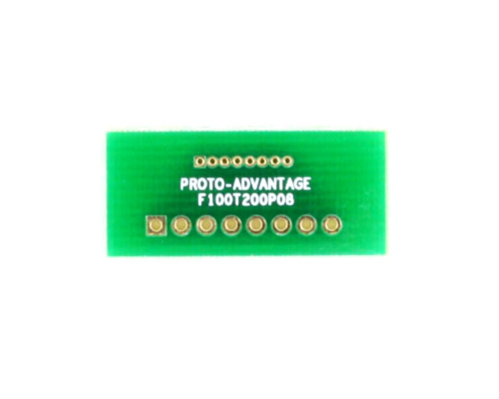 Pitch Changer 1.00 mm to 2.00 mm conversion -  8 pin 0