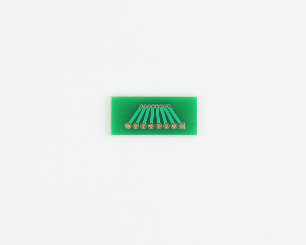 Pitch Changer 1.00 mm to 2.00 mm conversion -  8 pin 1