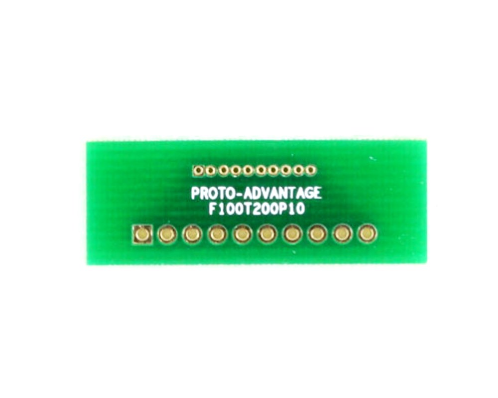 Pitch Changer 1.00 mm to 2.00 mm conversion - 10 pin 0