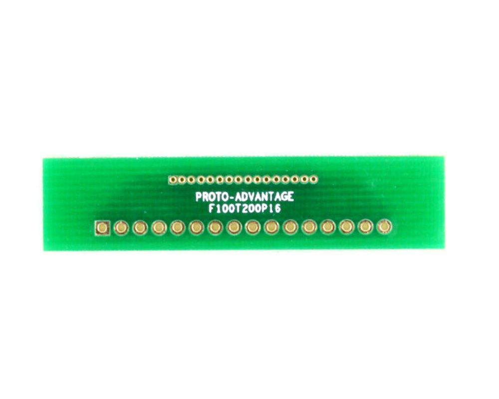 Pitch Changer 1.00 mm to 2.00 mm conversion - 16 pin 0