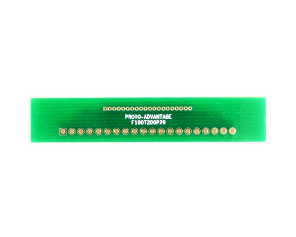 Pitch Changer 1.00 mm to 2.00 mm conversion - 20 pin 0