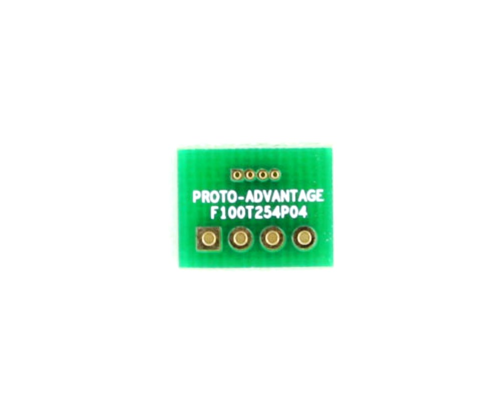 Pitch Changer 1.00 mm to 2.54 mm conversion -  4 pin 0