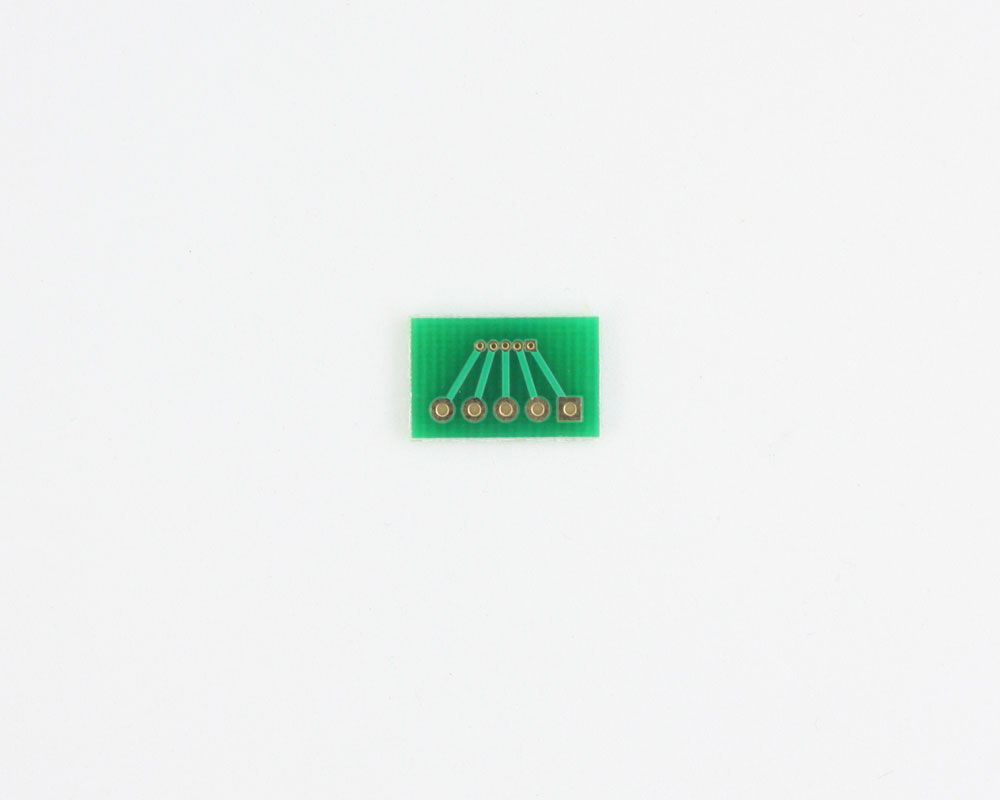 Pitch Changer 1.00 mm to 2.54 mm conversion -  5 pin 1