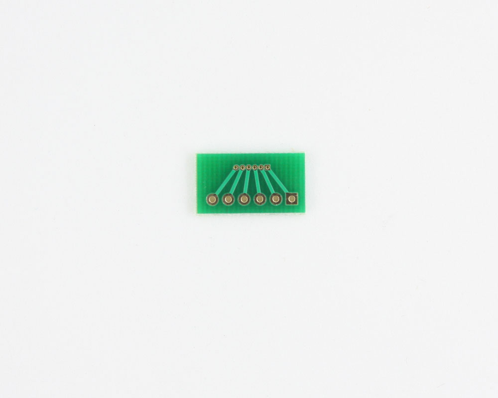 Pitch Changer 1.00 mm to 2.54 mm conversion -  6 pin 1