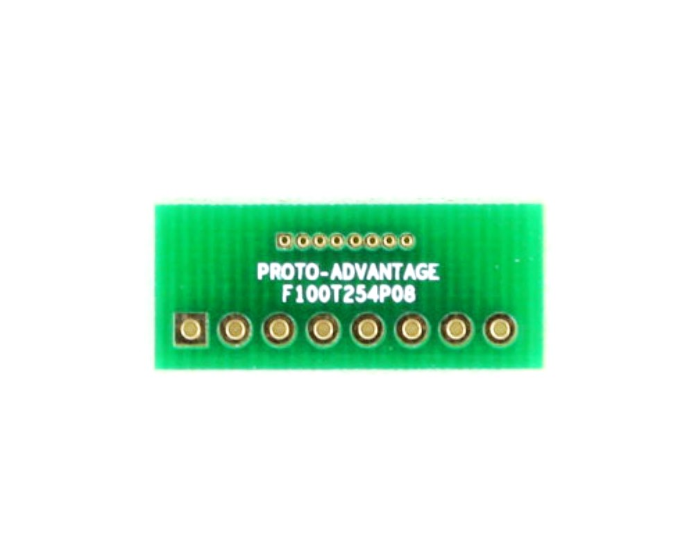 Pitch Changer 1.00 mm to 2.54 mm conversion -  8 pin 0