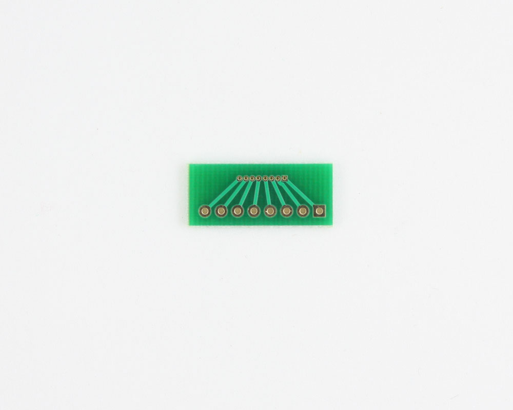 Pitch Changer 1.00 mm to 2.54 mm conversion -  8 pin 1