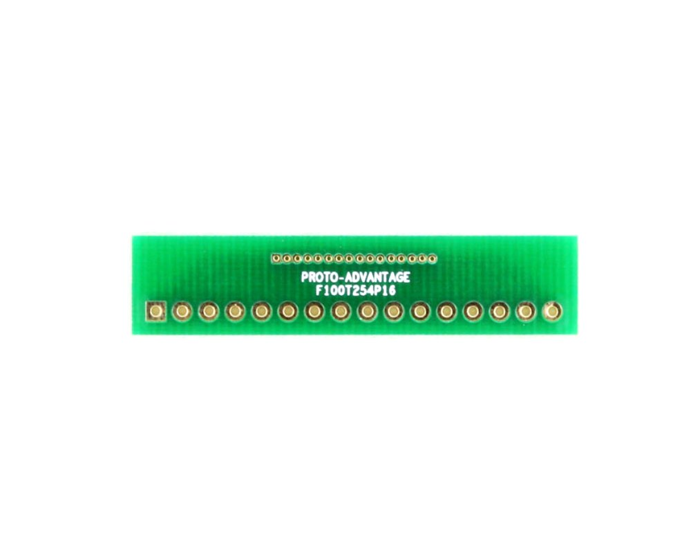 Pitch Changer 1.00 mm to 2.54 mm conversion - 16 pin 0