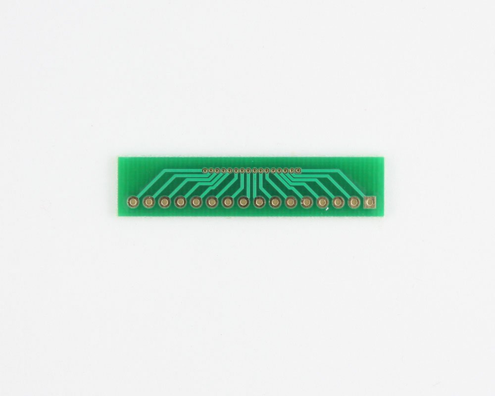 Pitch Changer 1.00 mm to 2.54 mm conversion - 16 pin 1