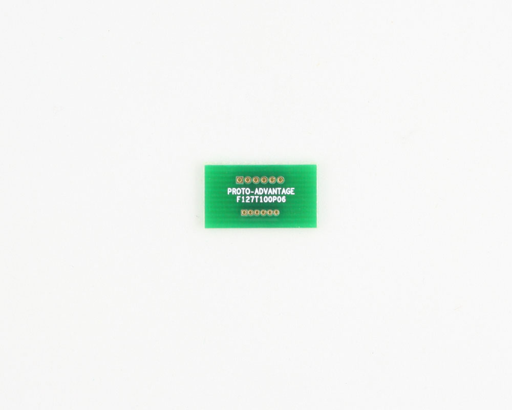 Pitch Changer 1.27 mm to 1.00 mm conversion -  6 pin 0