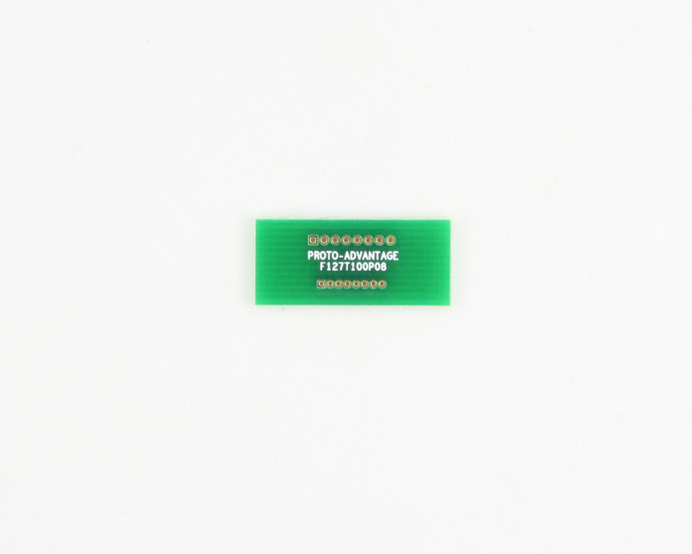 Pitch Changer 1.27 mm to 1.00 mm conversion -  8 pin 0