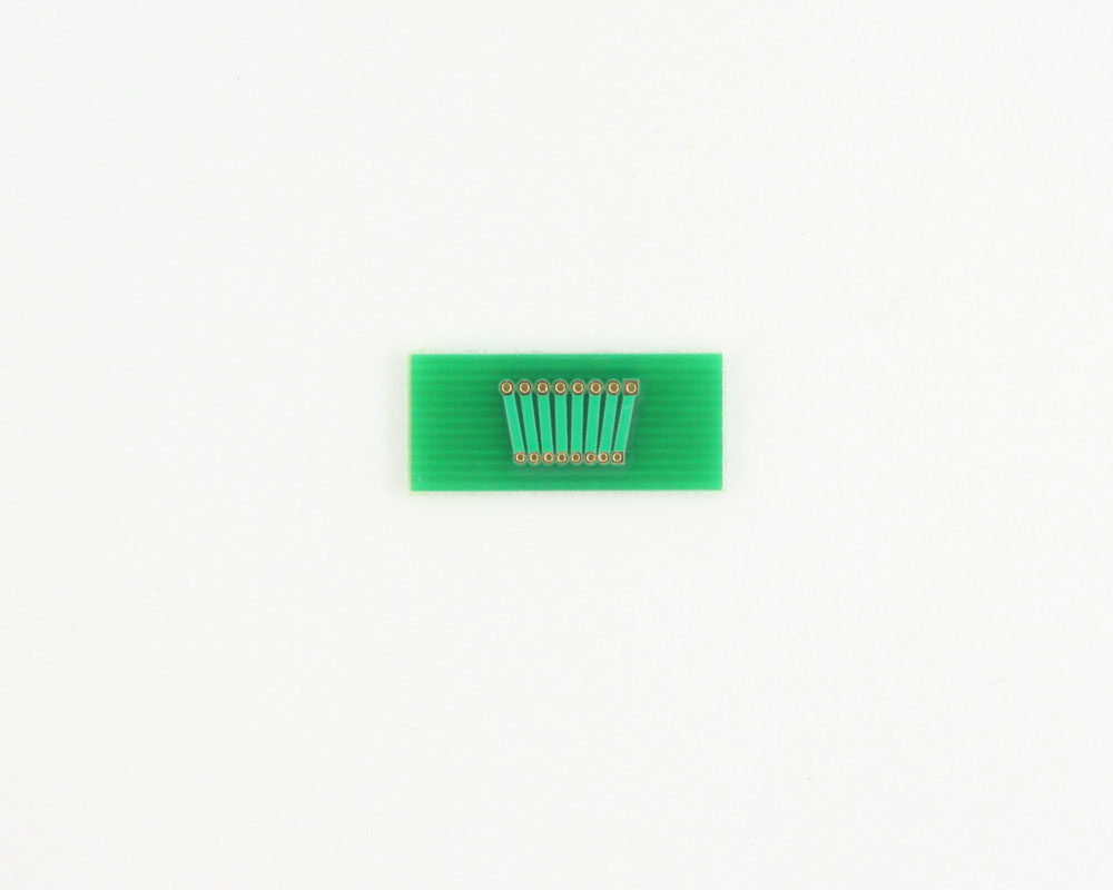 Pitch Changer 1.27 mm to 1.00 mm conversion -  8 pin 1