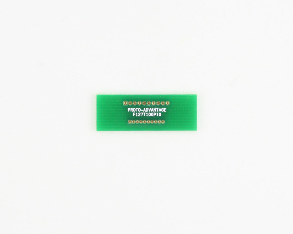Pitch Changer 1.27 mm to 1.00 mm conversion - 10 pin 0