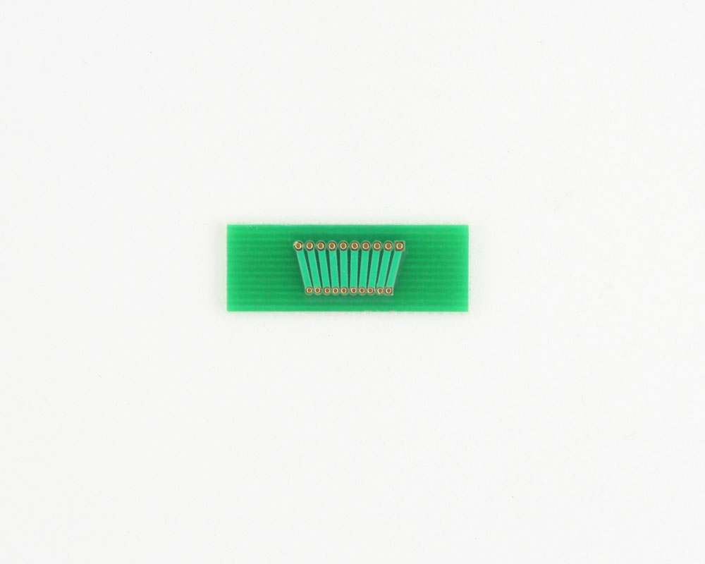 Pitch Changer 1.27 mm to 1.00 mm conversion - 10 pin 1