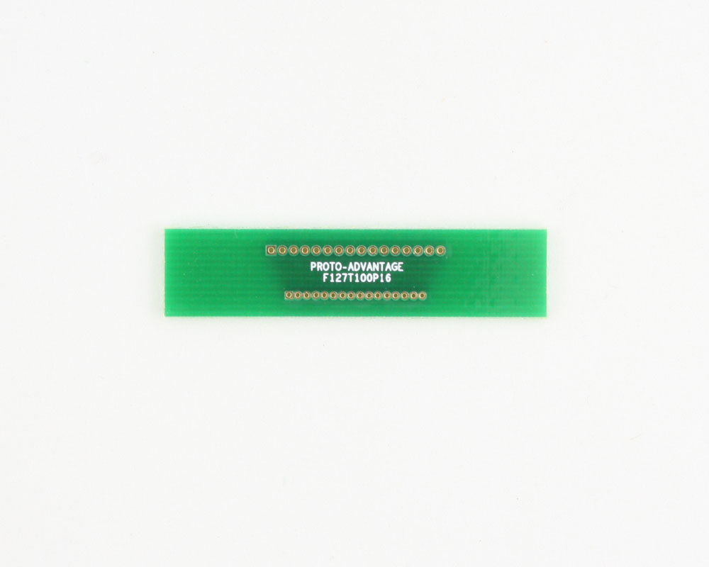 Pitch Changer 1.27 mm to 1.00 mm conversion - 16 pin 0