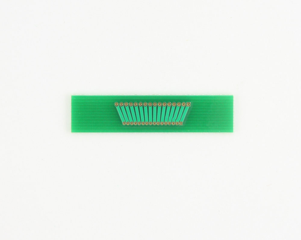 Pitch Changer 1.27 mm to 1.00 mm conversion - 16 pin 1