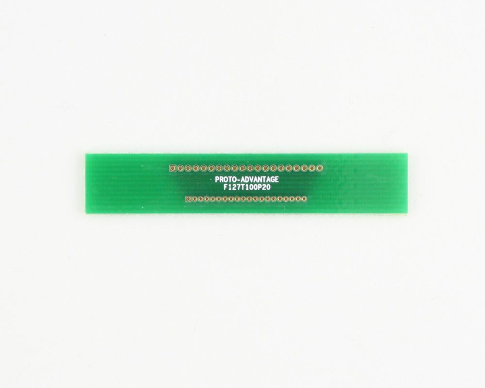 Pitch Changer 1.27 mm to 1.00 mm conversion - 20 pin 0