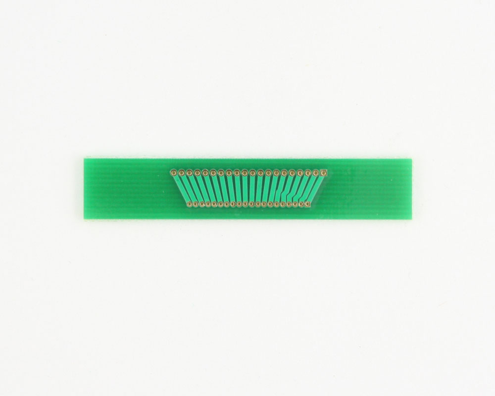 Pitch Changer 1.27 mm to 1.00 mm conversion - 20 pin 1