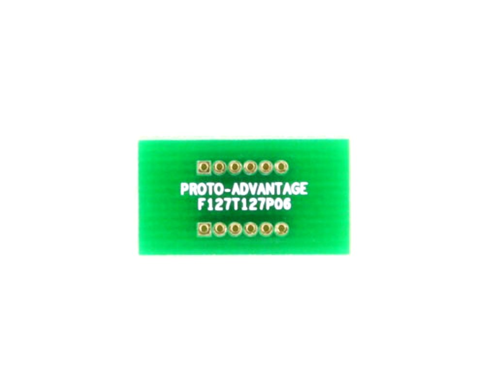 Pitch Changer 1.27 mm to 1.27 mm conversion -  6 pin 0