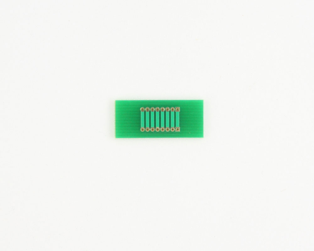 Pitch Changer 1.27 mm to 1.27 mm conversion -  8 pin 1