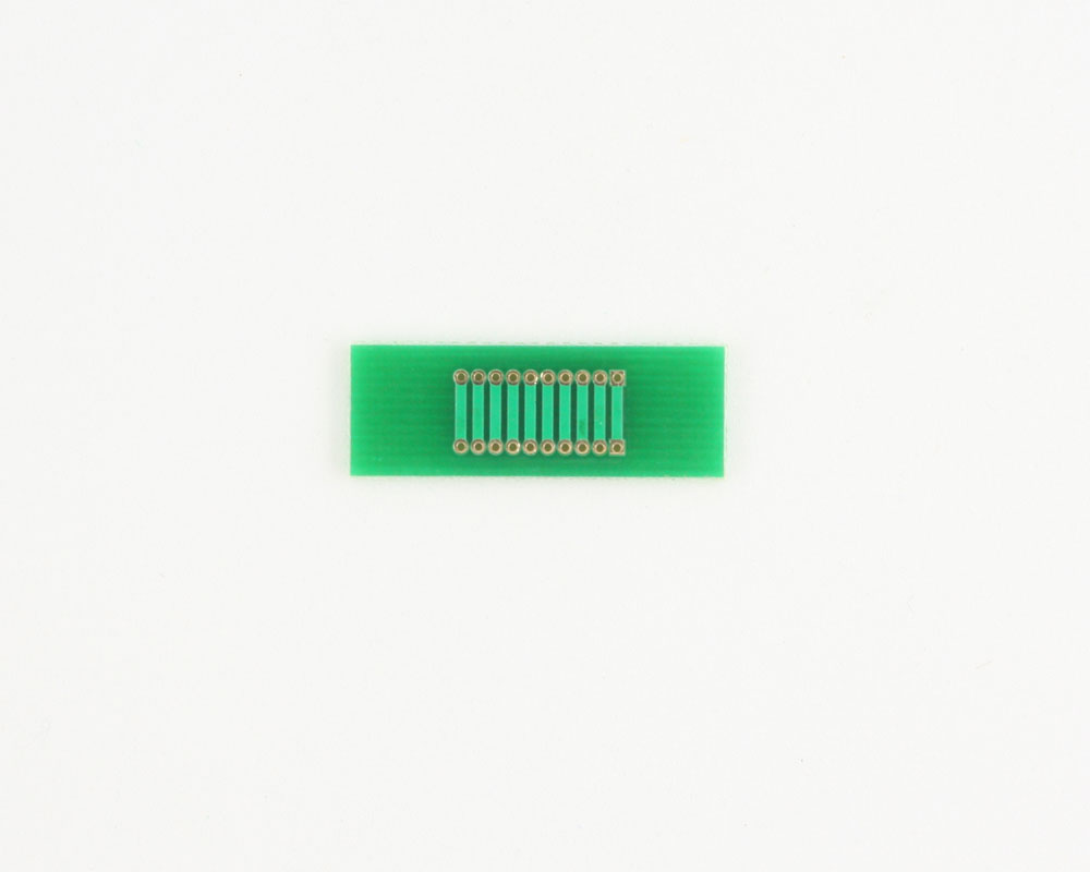 Pitch Changer 1.27 mm to 1.27 mm conversion - 10 pin 1