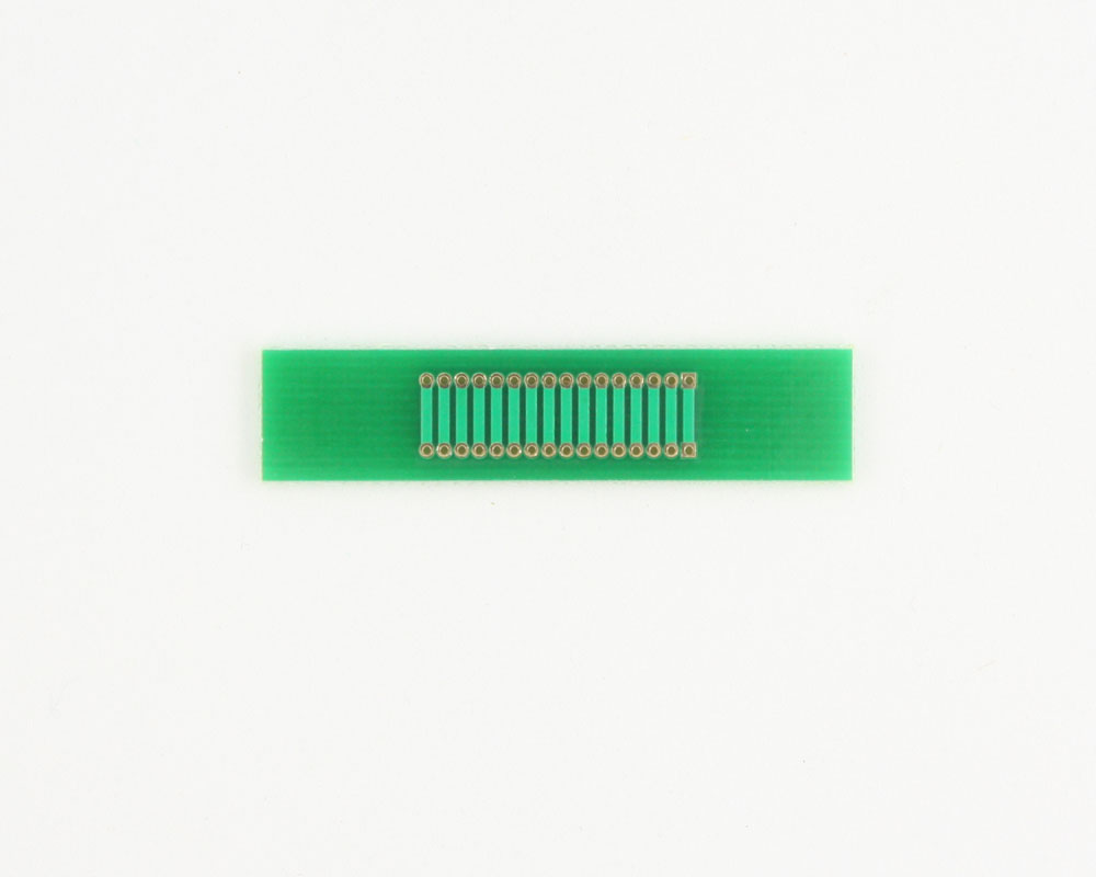 Pitch Changer 1.27 mm to 1.27 mm conversion - 16 pin 1