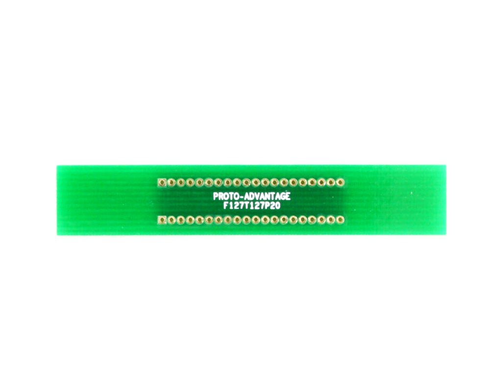 Pitch Changer 1.27 mm to 1.27 mm conversion - 20 pin 0