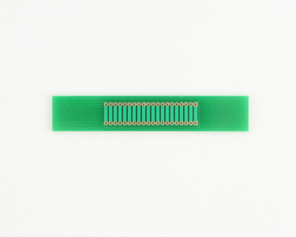 Pitch Changer 1.27 mm to 1.27 mm conversion - 20 pin 1