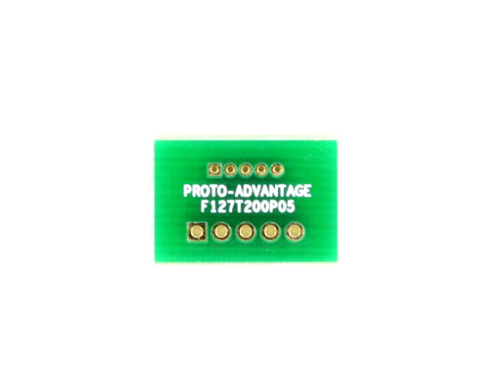 Pitch Changer 1.27 mm to 2.00 mm conversion -  5 pin 0