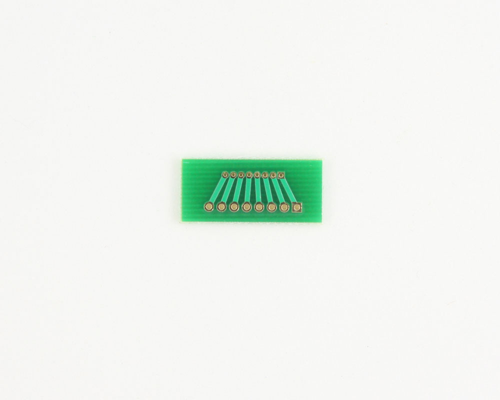 Pitch Changer 1.27 mm to 2.00 mm conversion -  8 pin 1