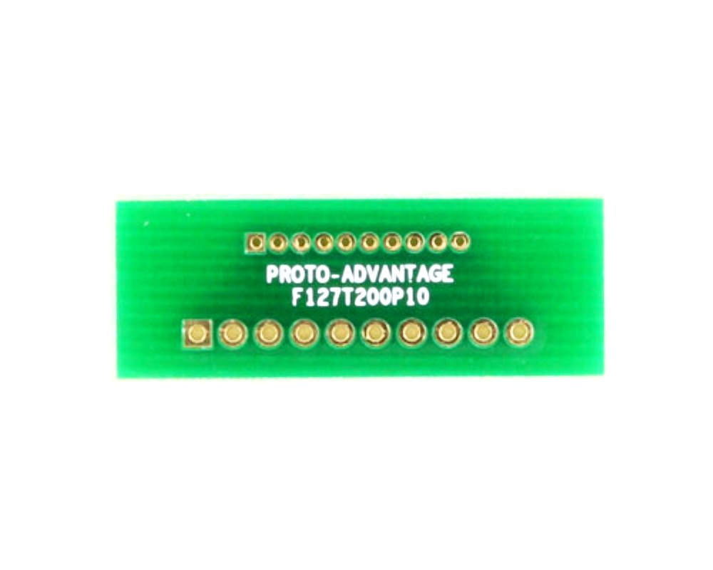 Pitch Changer 1.27 mm to 2.00 mm conversion - 10 pin 0