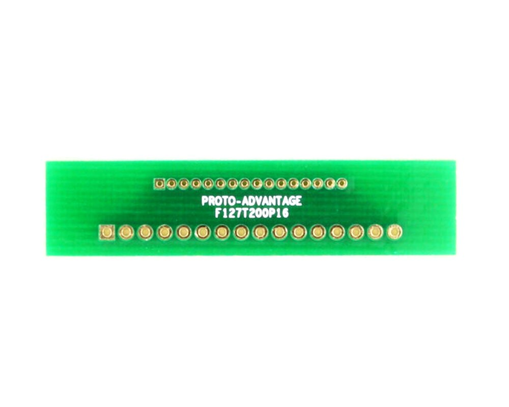 Pitch Changer 1.27 mm to 2.00 mm conversion - 16 pin 0