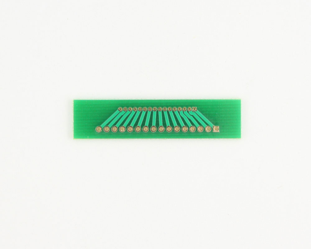 Pitch Changer 1.27 mm to 2.00 mm conversion - 16 pin 1