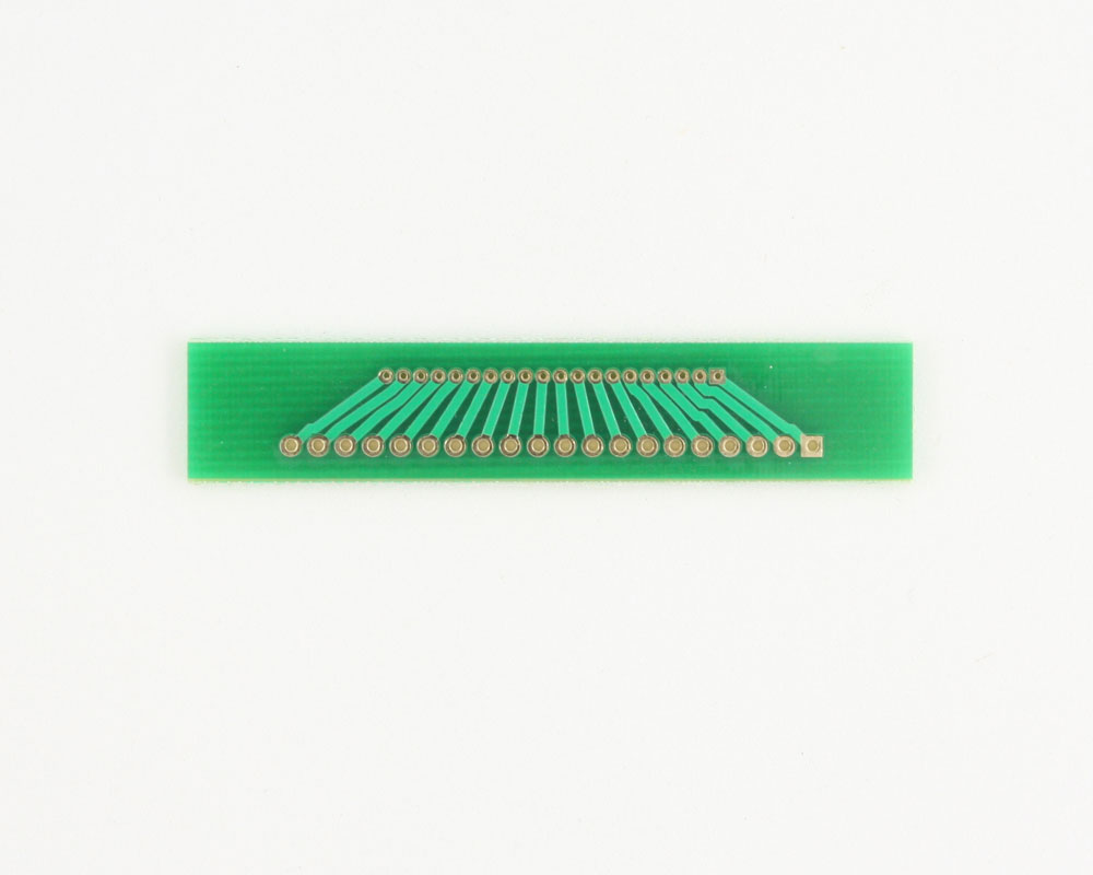 Pitch Changer 1.27 mm to 2.00 mm conversion - 20 pin 1