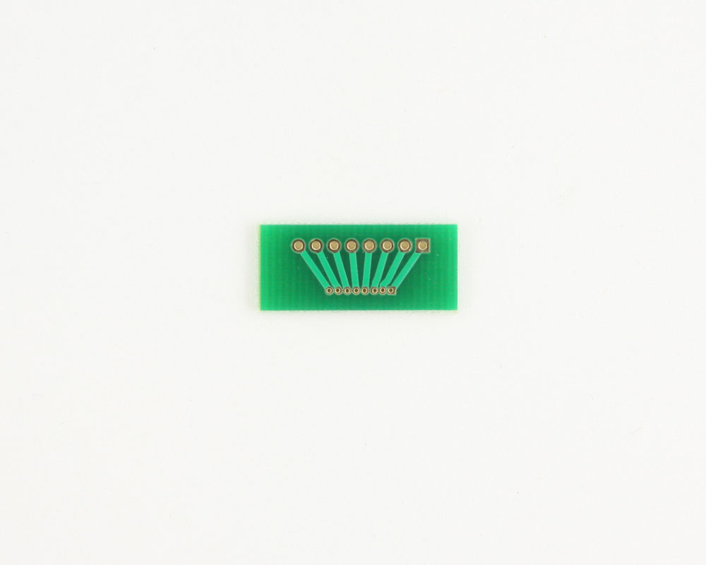 Pitch Changer 2.00 mm to 1.00 mm conversion -  8 pin 1