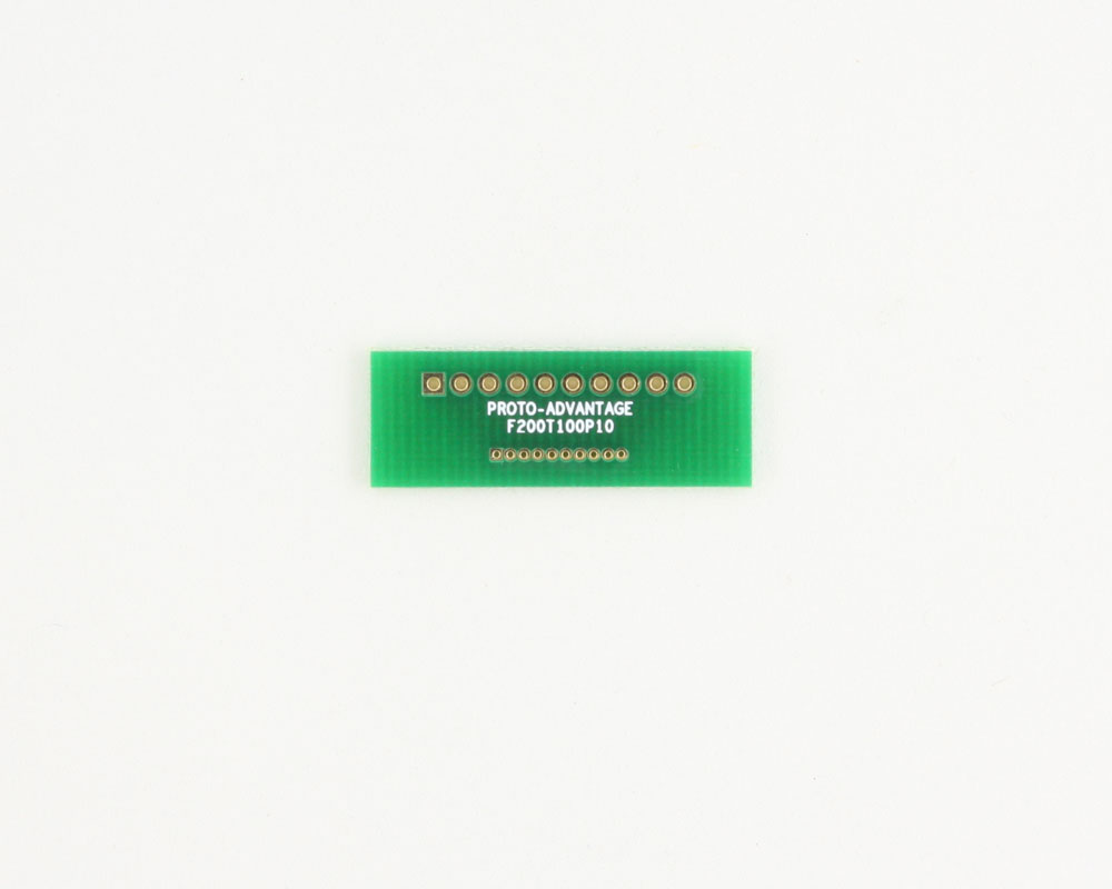 Pitch Changer 2.00 mm to 1.00 mm conversion - 10 pin 0