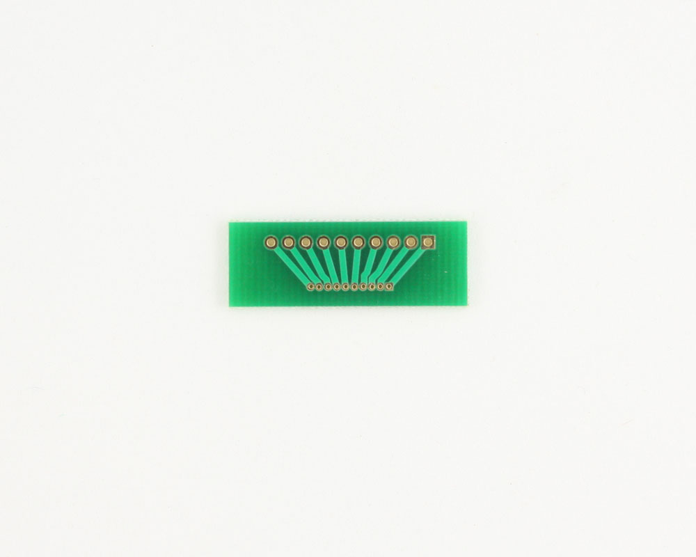 Pitch Changer 2.00 mm to 1.00 mm conversion - 10 pin 1