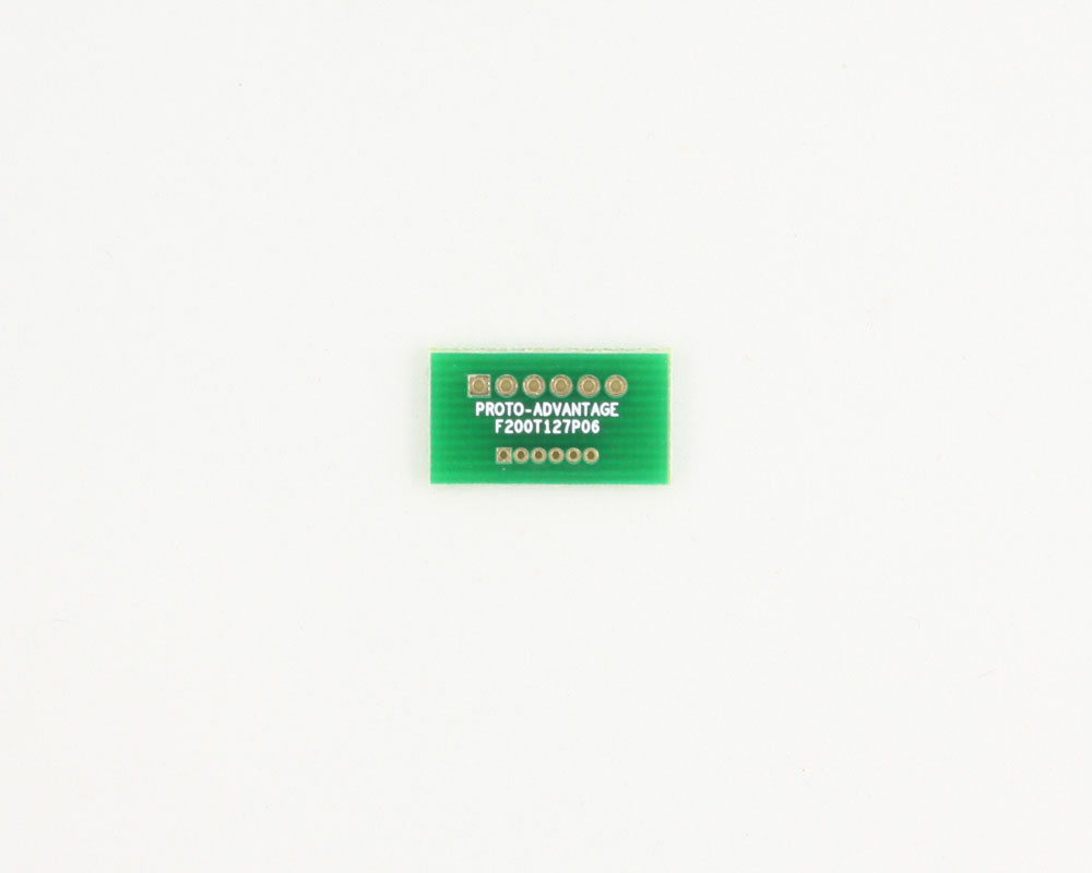 Pitch Changer 2.00 mm to 1.27 mm conversion -  6 pin 0