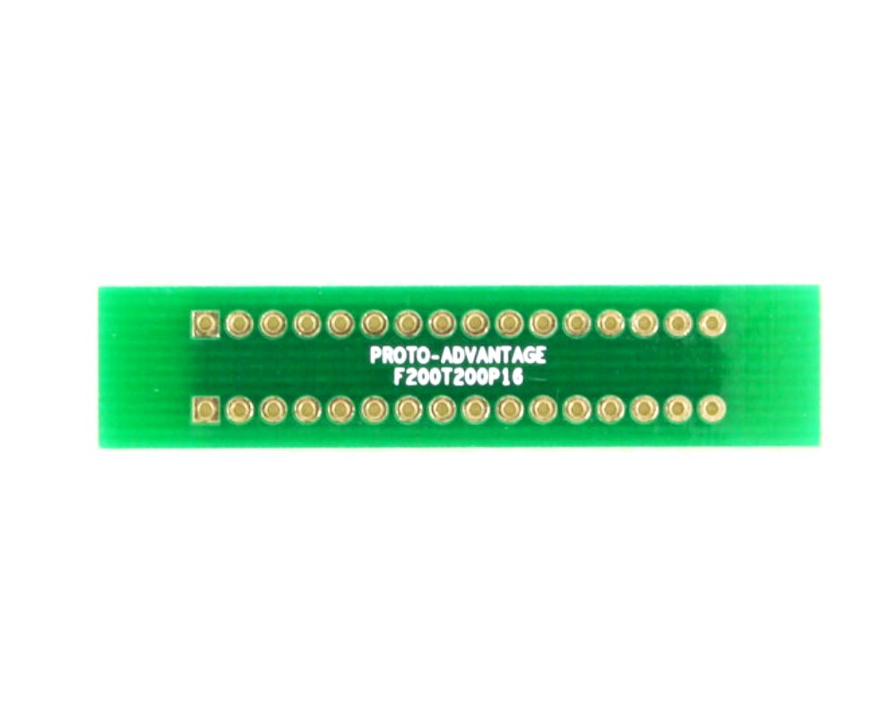 Pitch Changer 2.00 mm to 2.00 mm conversion - 16 pin 0