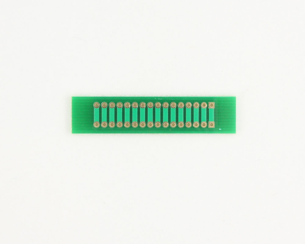 Pitch Changer 2.00 mm to 2.00 mm conversion - 16 pin 1