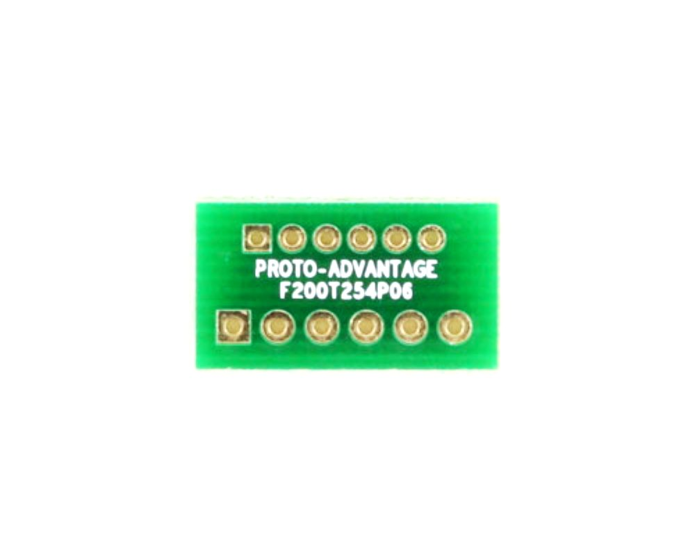 Pitch Changer 2.00 mm to 2.54 mm conversion -  6 pin 0