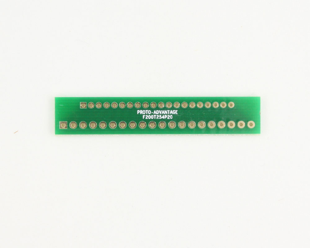 Pitch Changer 2.00 mm to 2.54 mm conversion - 20 pin 0