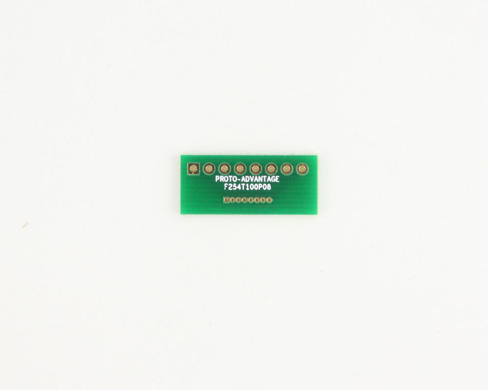 Pitch Changer 2.54 mm to 1.00 mm conversion -  8 pin 0