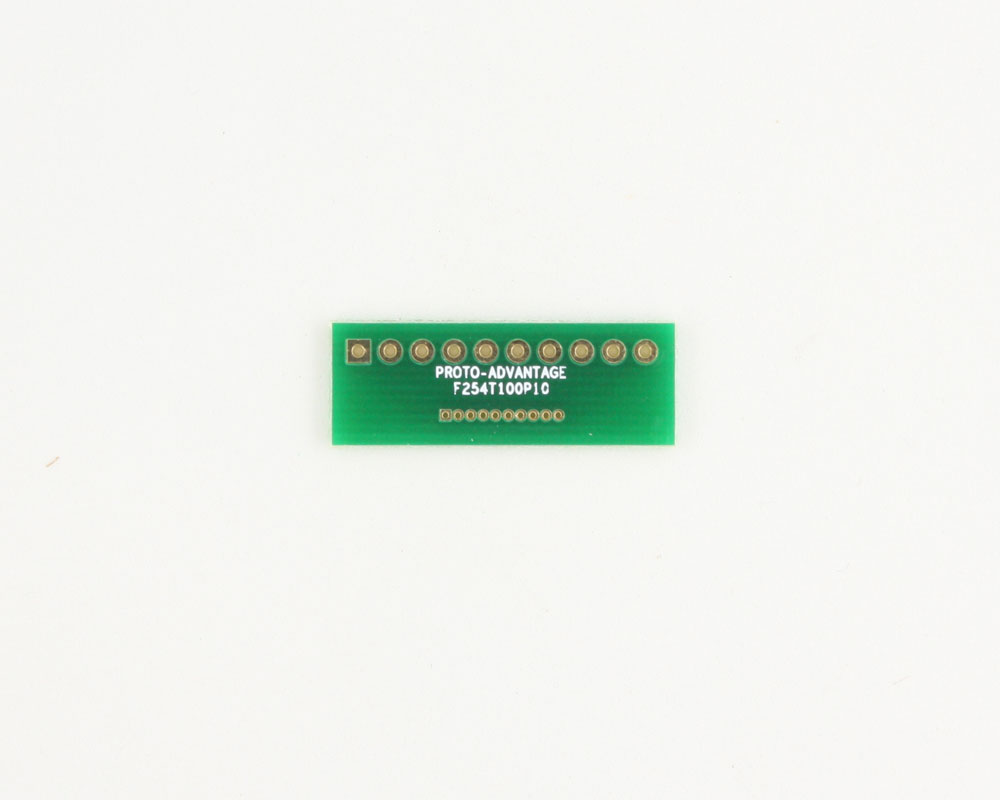 Pitch Changer 2.54 mm to 1.00 mm conversion - 10 pin 0