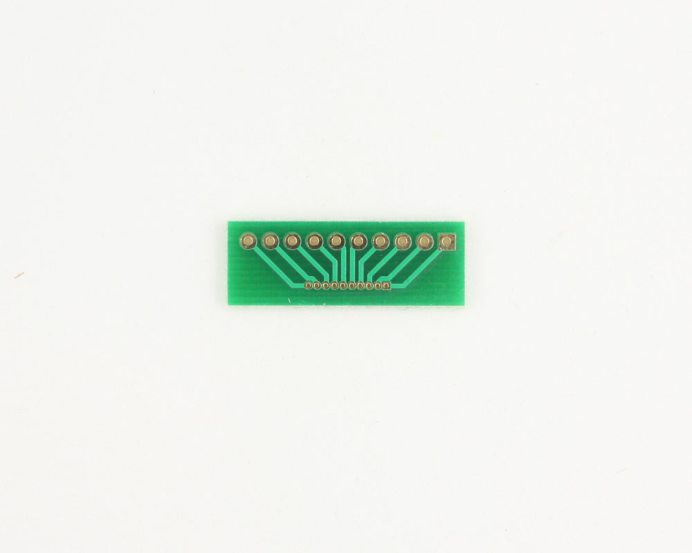 Pitch Changer 2.54 mm to 1.00 mm conversion - 10 pin 1