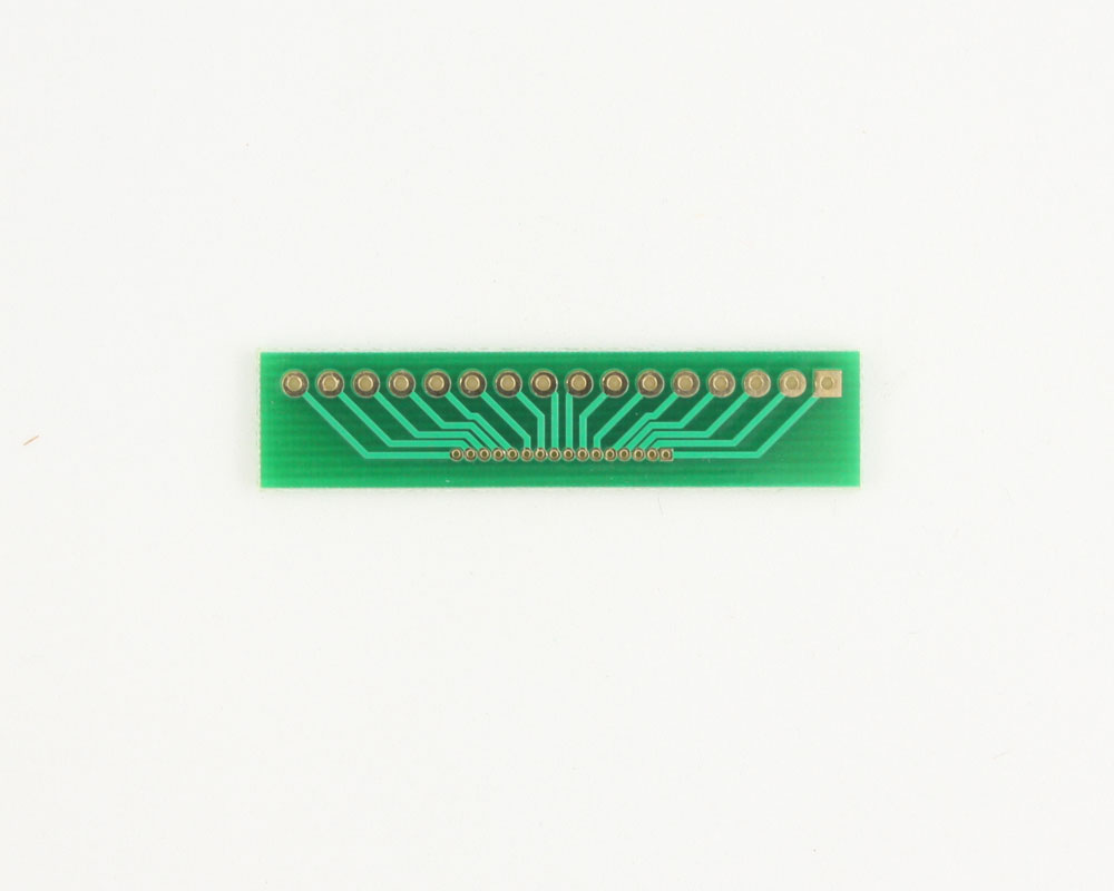 Pitch Changer 2.54 mm to 1.00 mm conversion - 16 pin 1