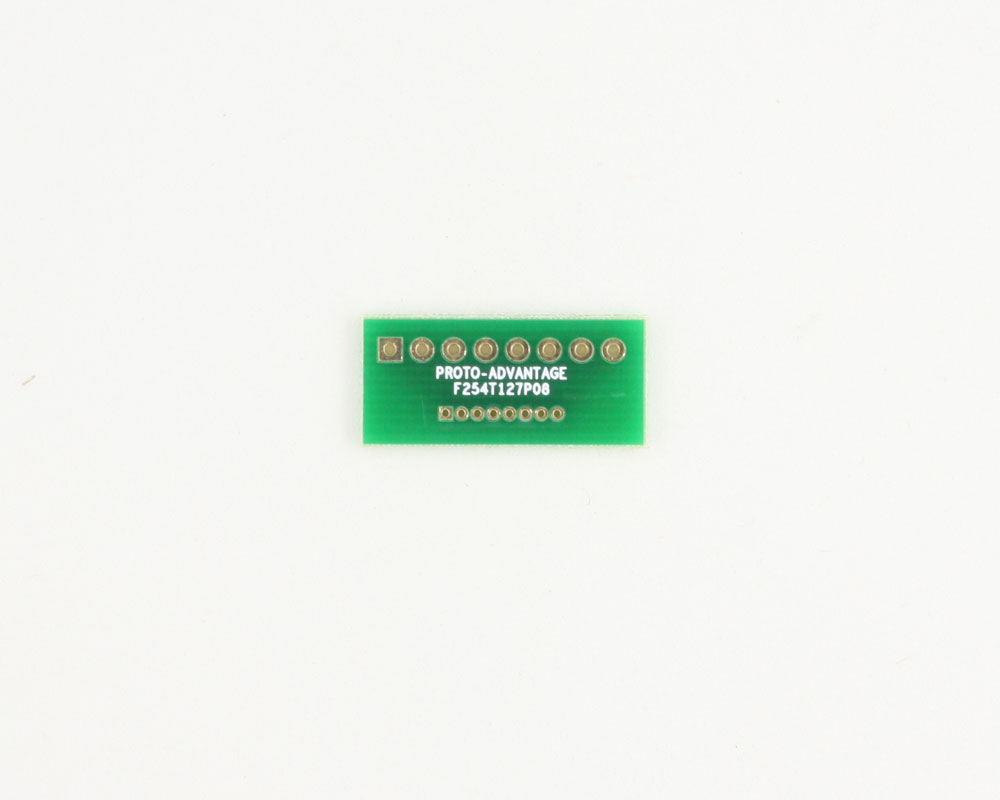 Pitch Changer 2.54 mm to 1.27 mm conversion -  8 pin 0