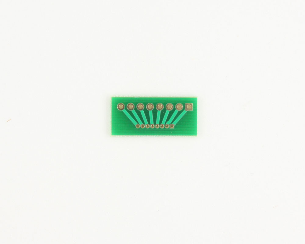 Pitch Changer 2.54 mm to 1.27 mm conversion -  8 pin 1