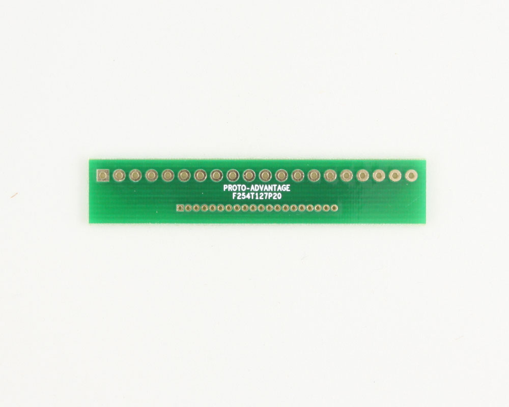 Pitch Changer 2.54 mm to 1.27 mm conversion - 20 pin 0